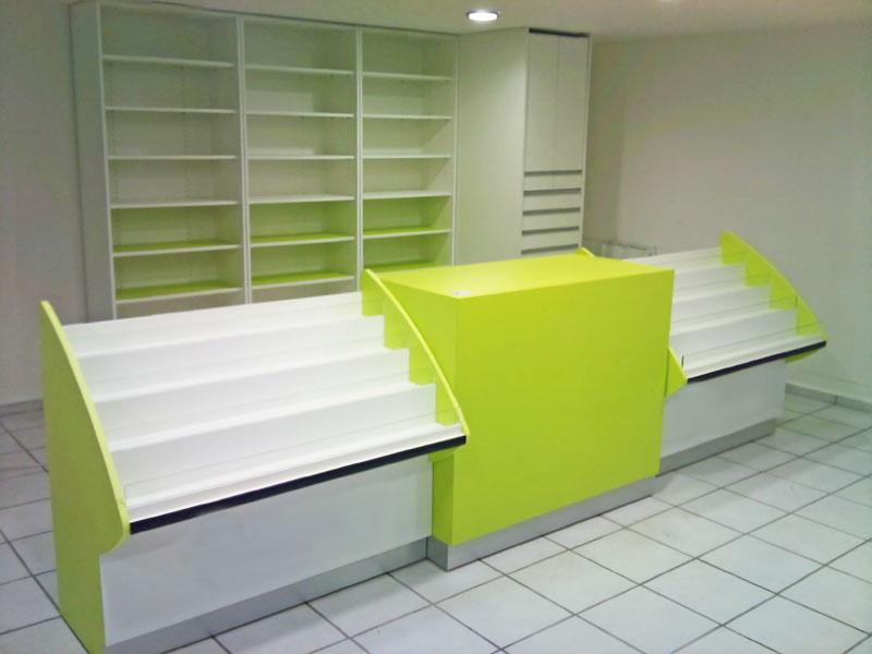 Tecnyfarma mostradores mobiliario para el sector - Mostradores para oficinas ...